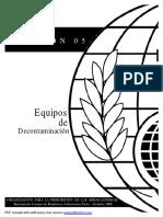05 Equipos de decontaminacion