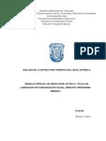 Análisis de la estructura hipertextual en El Estímulo
