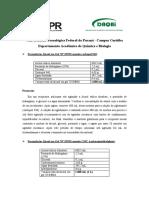 Protocolo Álcool gel - UTFPR