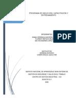 PROGRAMA DE INDUCCION, CAPACITACION Y ENTRENAMIENTO