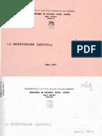 1977 - Tello, Julio C. - La investigacion cientifica