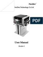 User Manual of NeoDen4-NEW