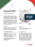 Ficha tecnica H801