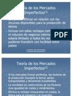 1.2 Teoria de Los Mercados Imperfectos