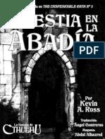 La llamada de Cthulhu - La bestia en la abadía (The Unspeakable Oath 5)_por Ángel Contreras y Abdul Alhazred