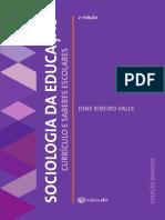 Sociologia da Educação e-book