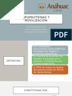 Lipoproteínas y movilización.pptx CASTLE