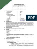 Silabo Estadistica Inferencial - Sicologia - 2020-I