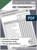 MondoLinguo-Questionnaire-Environnement
