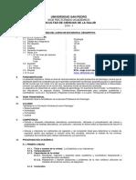 Silabo Estadistica Descriptiva-Sicologia-2020-I