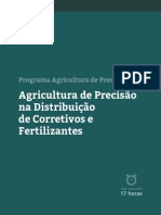 Senar - Agricultura de precisão na distribuição de corretivos e fertilizantes