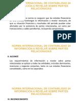 Norma Internacional de Contabilidad 24