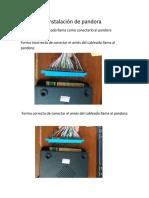 Manual de instalación de pandora (multi juegos)