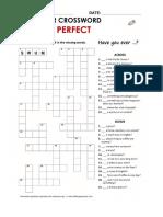 crosswords present perfect