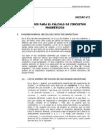 7 UNIDADES PARA EL CÁLCULO DE CIRCUITOS MAGNÉTICOS