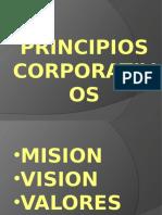 1. 1 PRINCIPIOS CORPORATIVOS