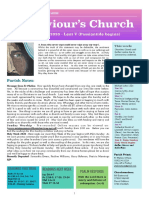 st saviours newsletter - 29 march 2020 lent 5
