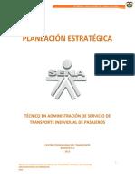 Planeación Estrategica  proyecto