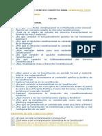Cuestionario de Derecho Constitucional Del Peru Ysla