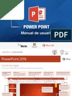 Manual de Usuario Power Point