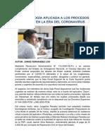 LA TECNOLOGÍA APLICADA A LOS PROCESOS PENALES EN LA ERA DEL CORONAVIRUS - JORGE FERNANDEZ LOO