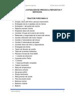 LISTADO DE PEDIDO PARA TRACTORES FORD.pdf