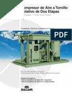 Compresor de Aire a Tornillo Rotativo de Dos Etapas Serie Tándem TS-20 TS-32 TS-32S.pdf