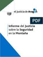 Informe del Justicia de Aragón sobre la seguridad en montaña