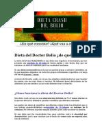 dieta-crash-doctor-bolio