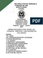 INSTRUCTIVO MINIMO NECESARIO PARA TENER LOS TECNICOS ARBITROS Y ANOTADORES.pdf
