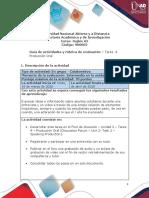 Guía de actividades y rubrica de evaluación - Unidad 2 - Tarea 4 - Producción oral.pdf