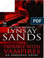 Sands, Lynsay - Familia Argeneau 29 - The trouble with vampires.pdf