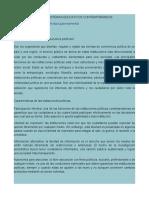 Políticas Públicas y Sistemas Educativos Contemporáneos