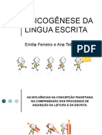 Psicogenese Da Língua Escrita - FERREIRO e TEBEROSKY (2)