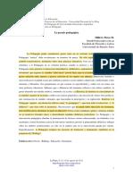 Hillert Flora, La Praxis Pedagógica