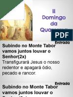 2º Domingo da Quaresma - Ano A - Transfiguração