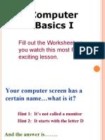 14121577 Computer Basics