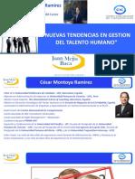 A1 NUEVAS TENDENCIAS EN LA GESTION DEL TALENTO HUMANO - Instituto Juan Mejia Baca- Expositor Diciembre 2018.pdf