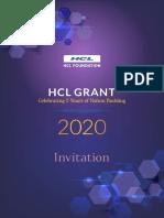 E-Invitation card - HCL Grant 2020_R_1