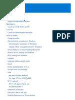 Microsoft  Intune - Configure devices settings