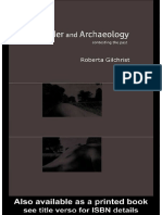 Gilchrist - Gender and Archaeology
