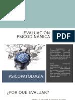 Evaluación Psicodinámica