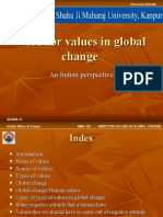 Need for Values in Global Change by p.rai87@Gmail