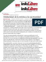 Solidaridad_ de la retórica a la oportunidad Javier de Lucas