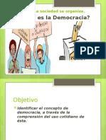 1. La Democracia