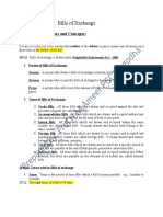 Ch.6 bills of exchange Principles of Accounting notes