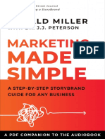 Marketing made simple | 16 Page Worksheet