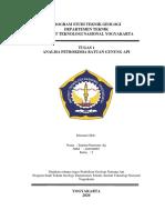 Resume Analisis Petrokimia Gunung Api