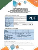 Guía  de actividades y Rubrica de evaluacion - Tarea 3 - Realizar registros contables