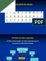 3. Datos en ArcMap